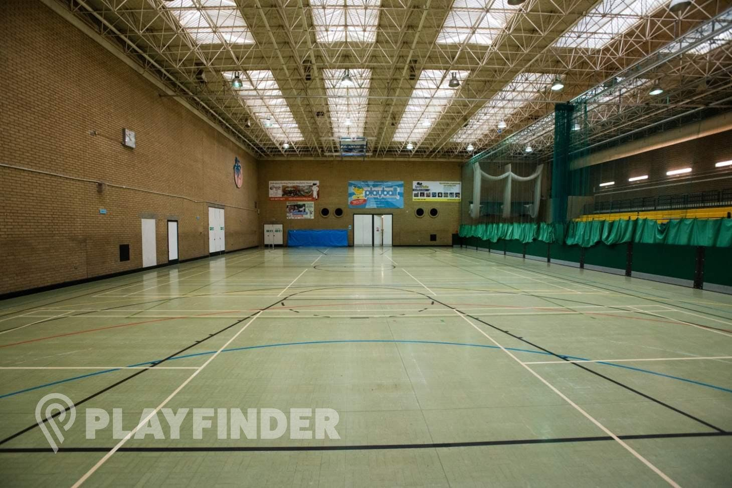 Latchmere Leisure Centre Indoor netball court