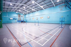 Welling School | Indoor Netball Court