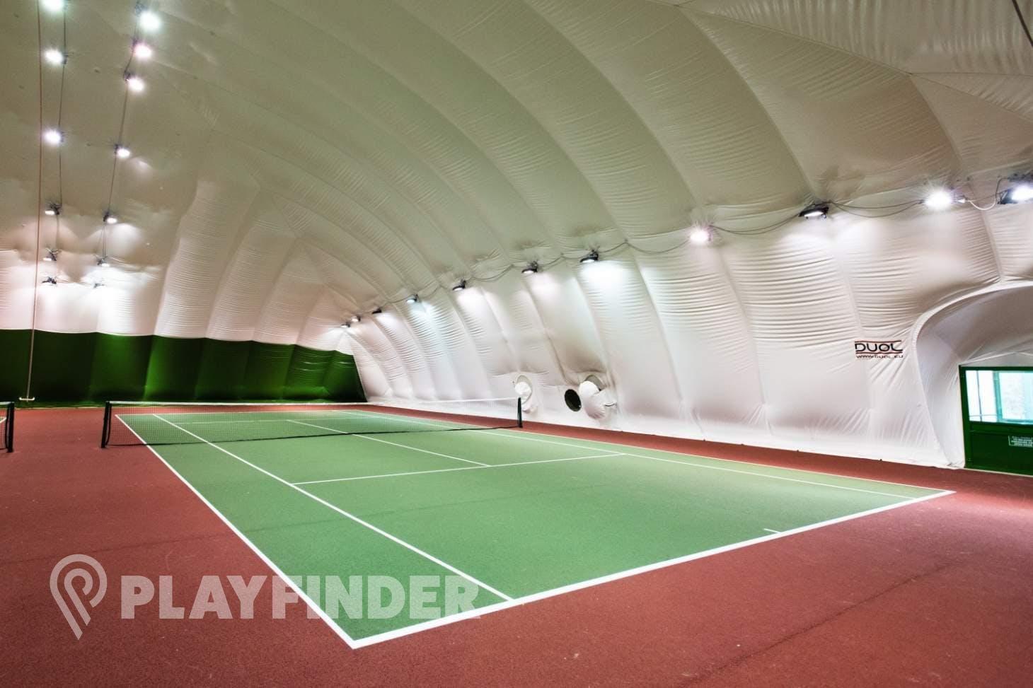 New River Sport & Fitness Indoor tennis court