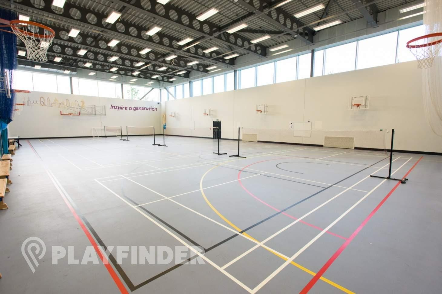 Chobham Academy Indoor | Hard badminton court
