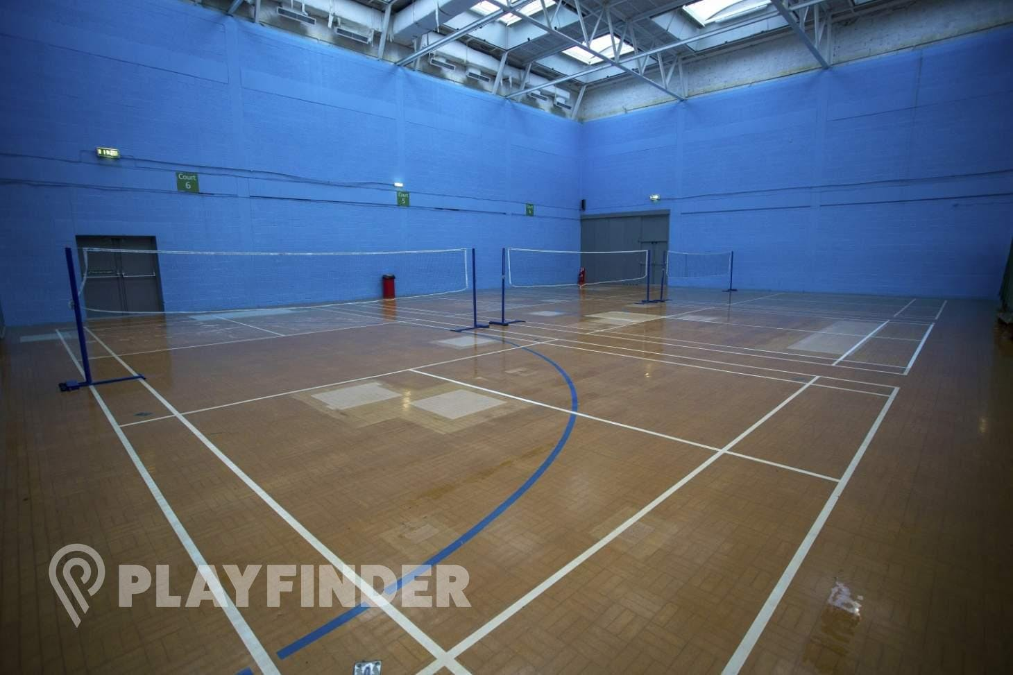Finsbury Leisure Centre Indoor | Hard badminton court
