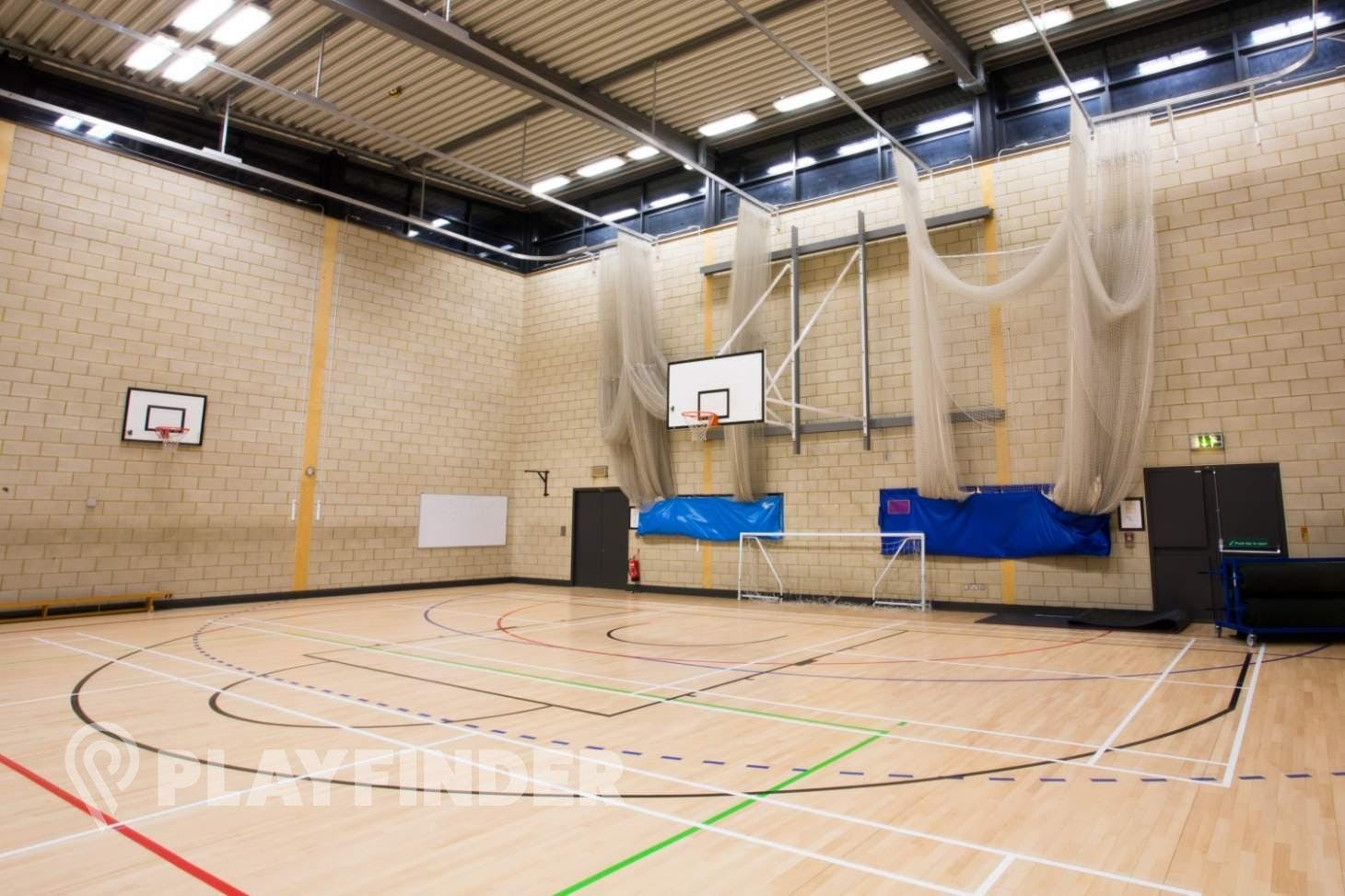 Brentside High School Indoor basketball court