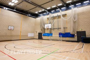 Brentside High School | Indoor Basketball Court