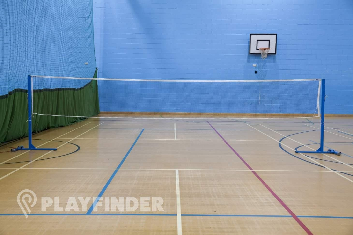 Burnt Oak Leisure Centre Indoor | Hard badminton court