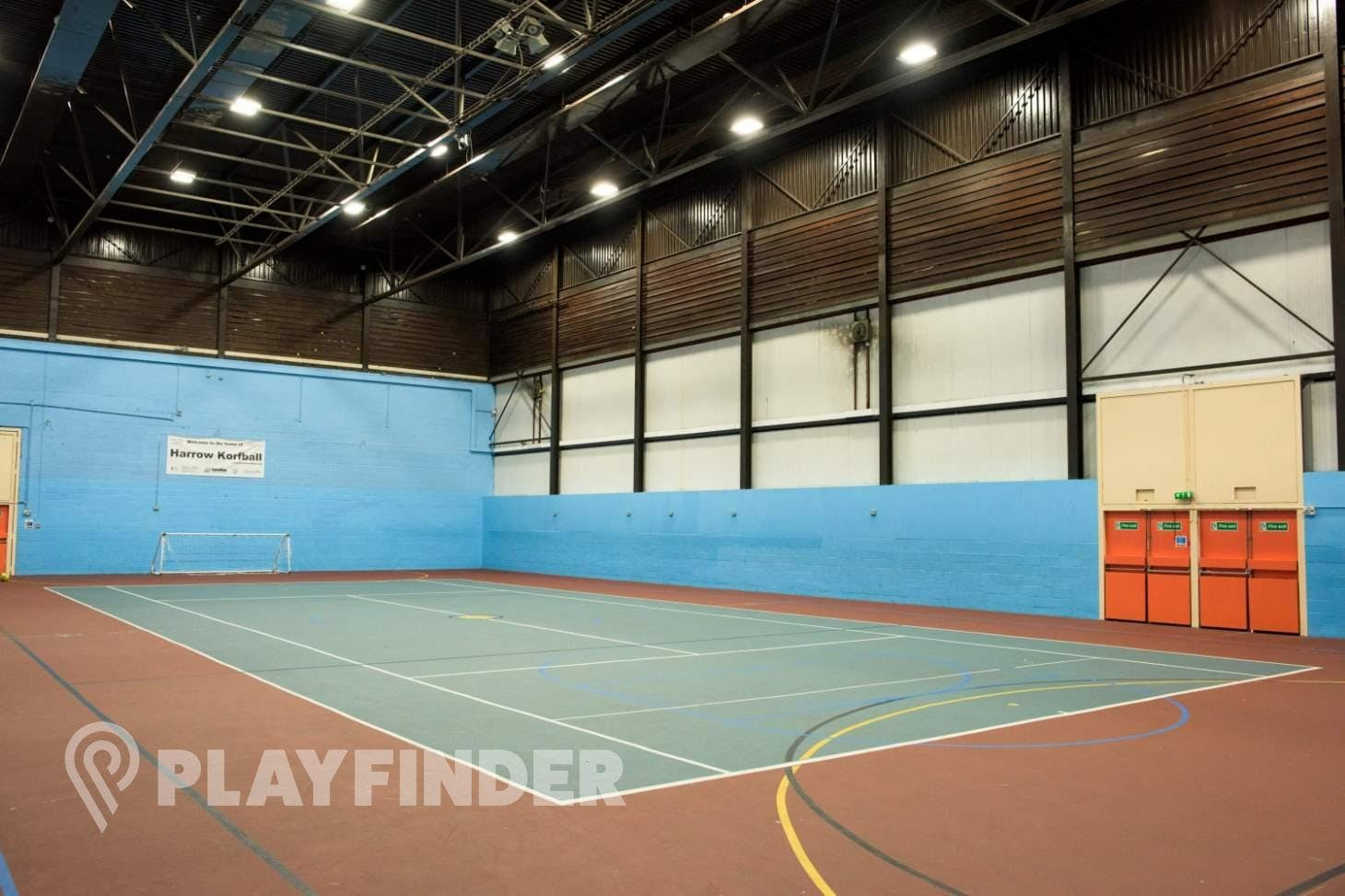 Harrow Leisure Centre Indoor | Hard badminton court