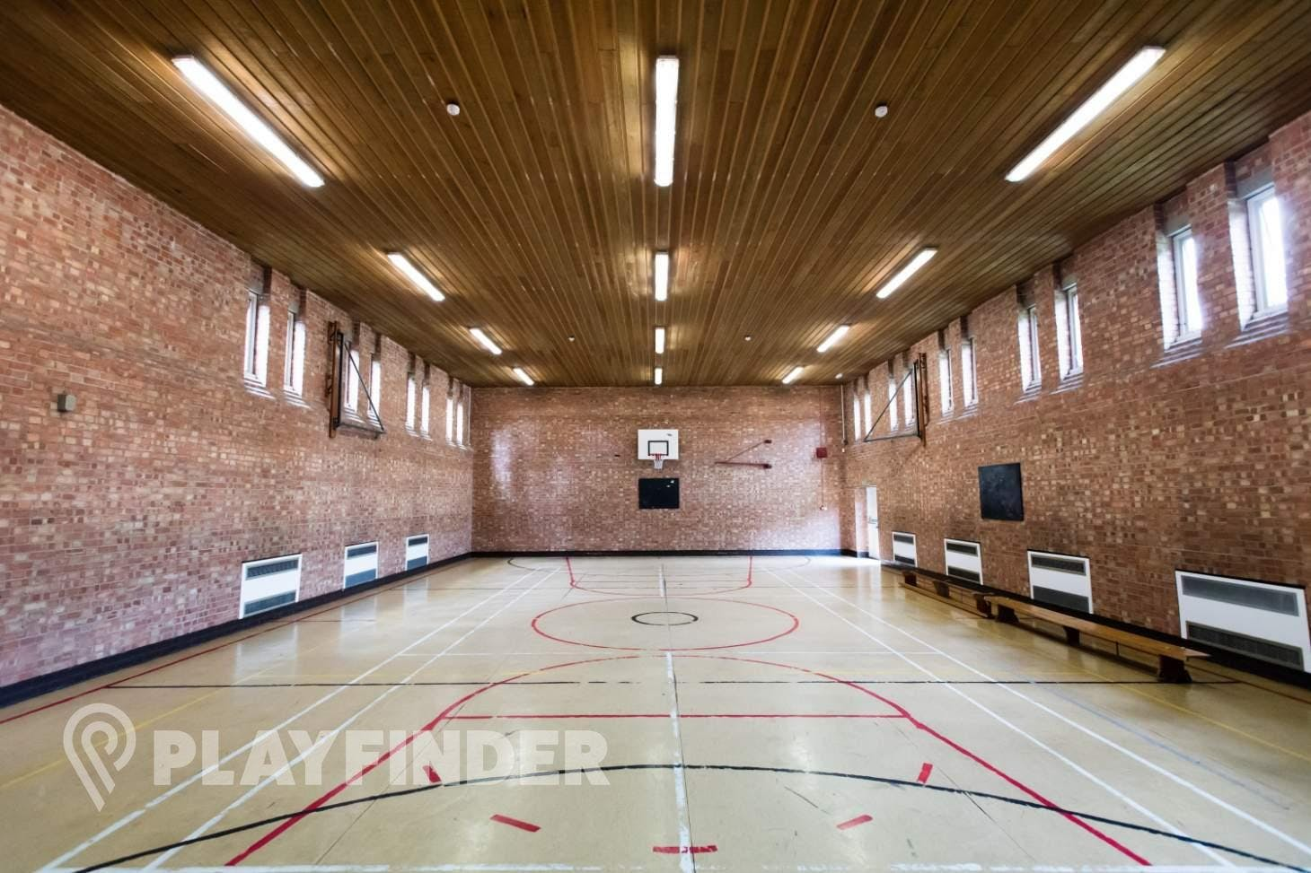 Marcus Lipton Community Enterprise Indoor basketball court