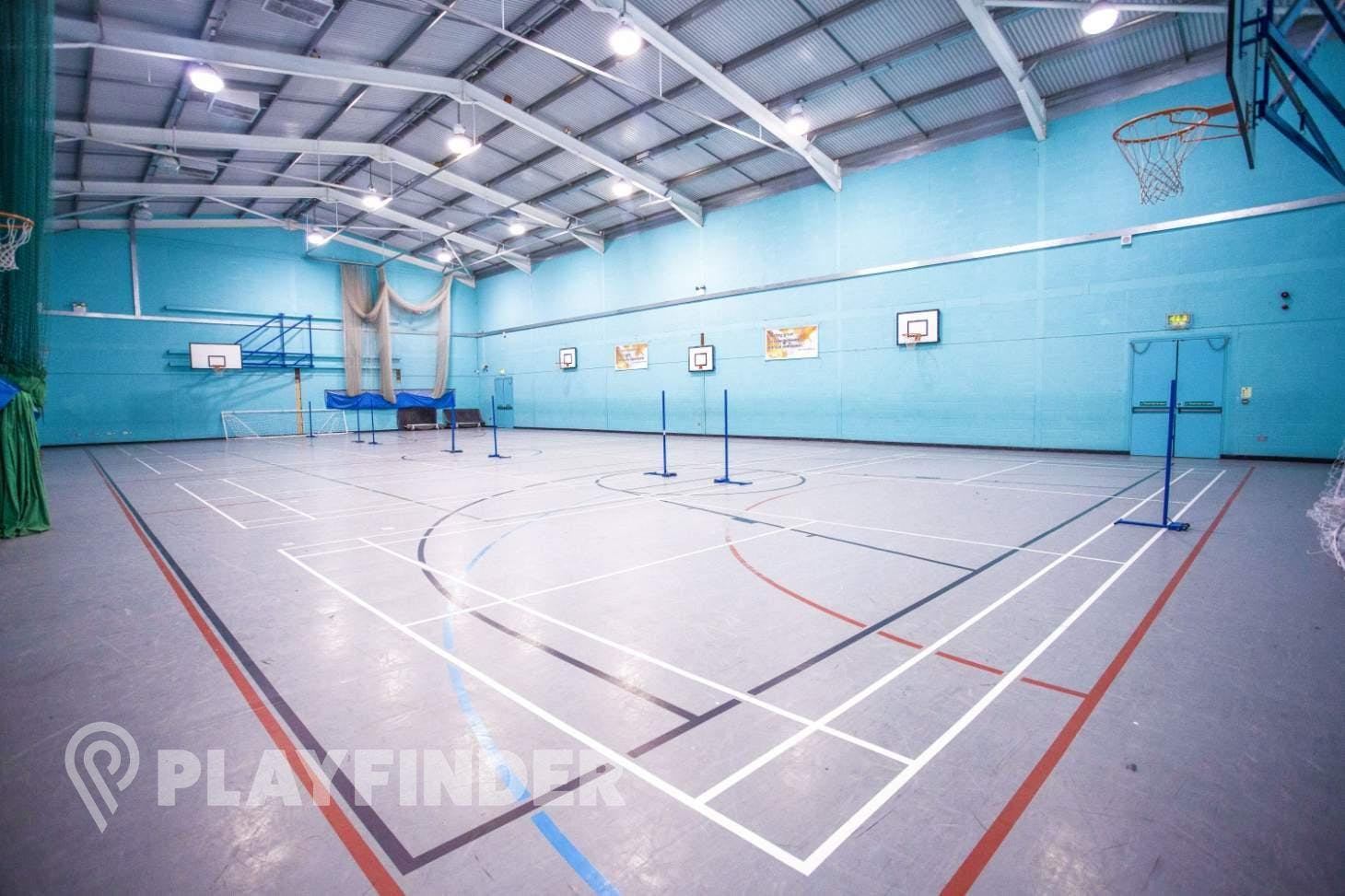 Welling School Indoor basketball court