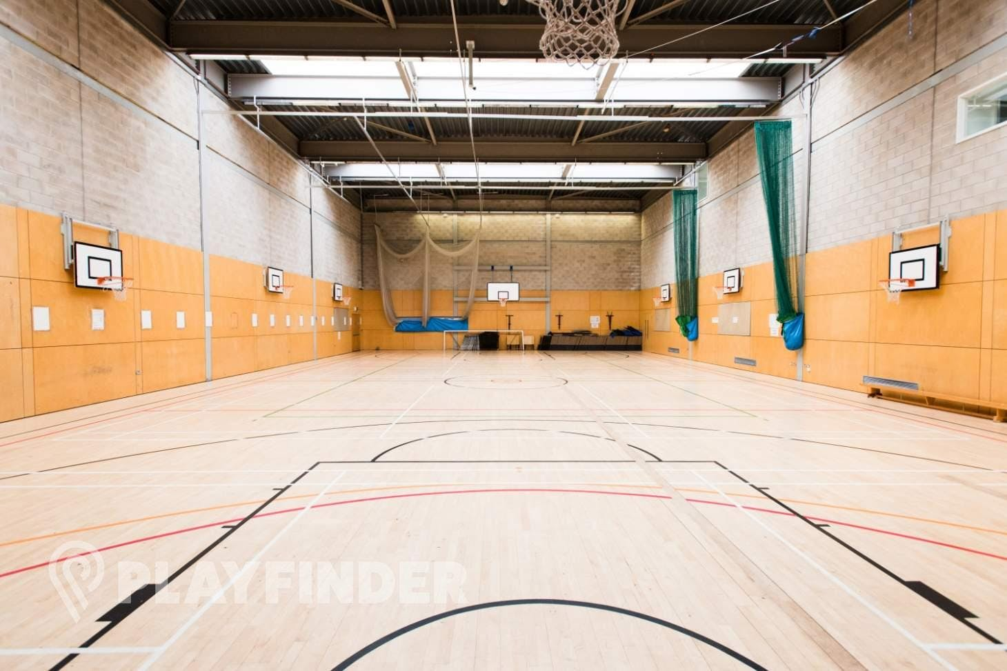 Haverstock School Indoor basketball court