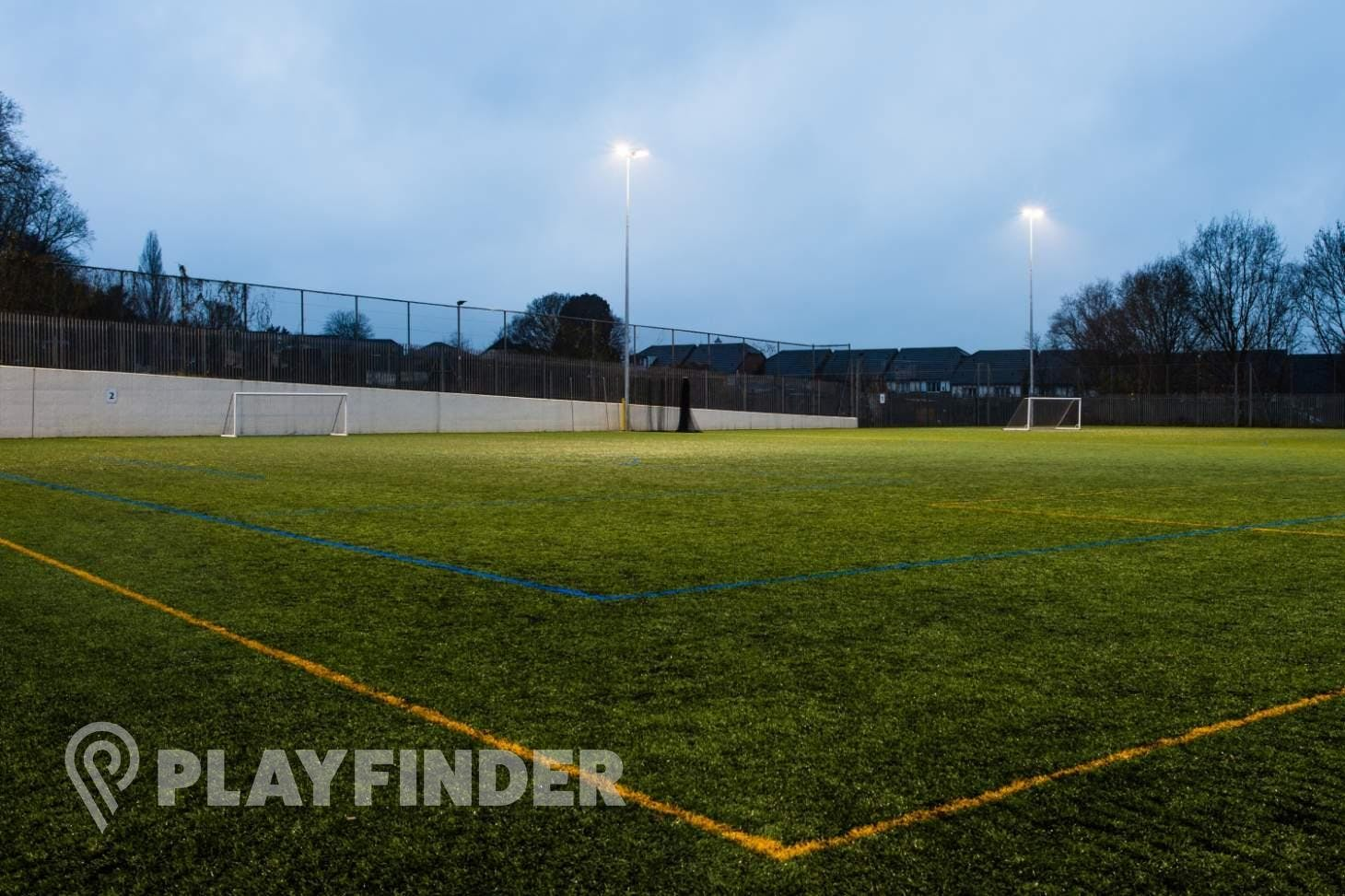 Middlesex University Sports Pitches 7 a side | 3G Astroturf football pitch