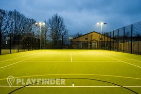 Middlesex University Sports Pitches | Astroturf Basketball Court