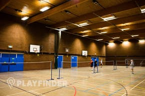 Harpenden Sports Centre | Hard Badminton Court