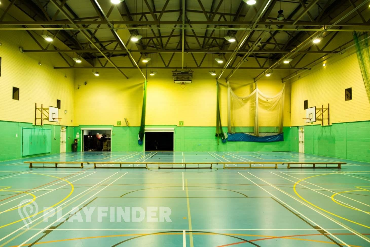Walthamstow Leisure Centre Indoor basketball court