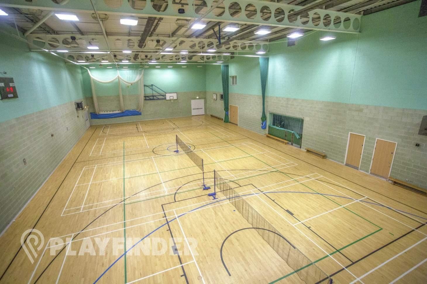 Sidcup Leisure Centre Indoor | Hard badminton court