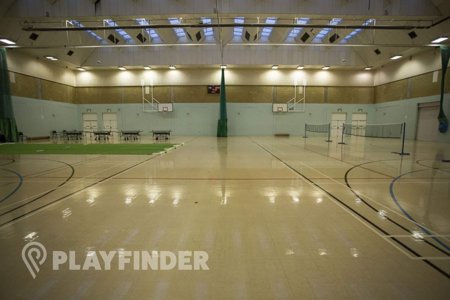 Crook Log Leisure Centre Indoor | Hard badminton court