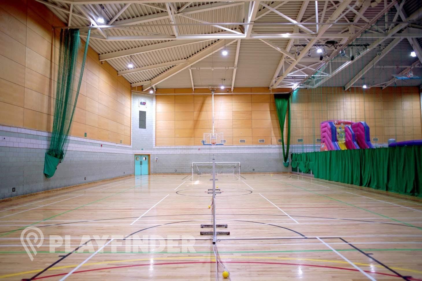 Windsor Leisure Centre Indoor basketball court