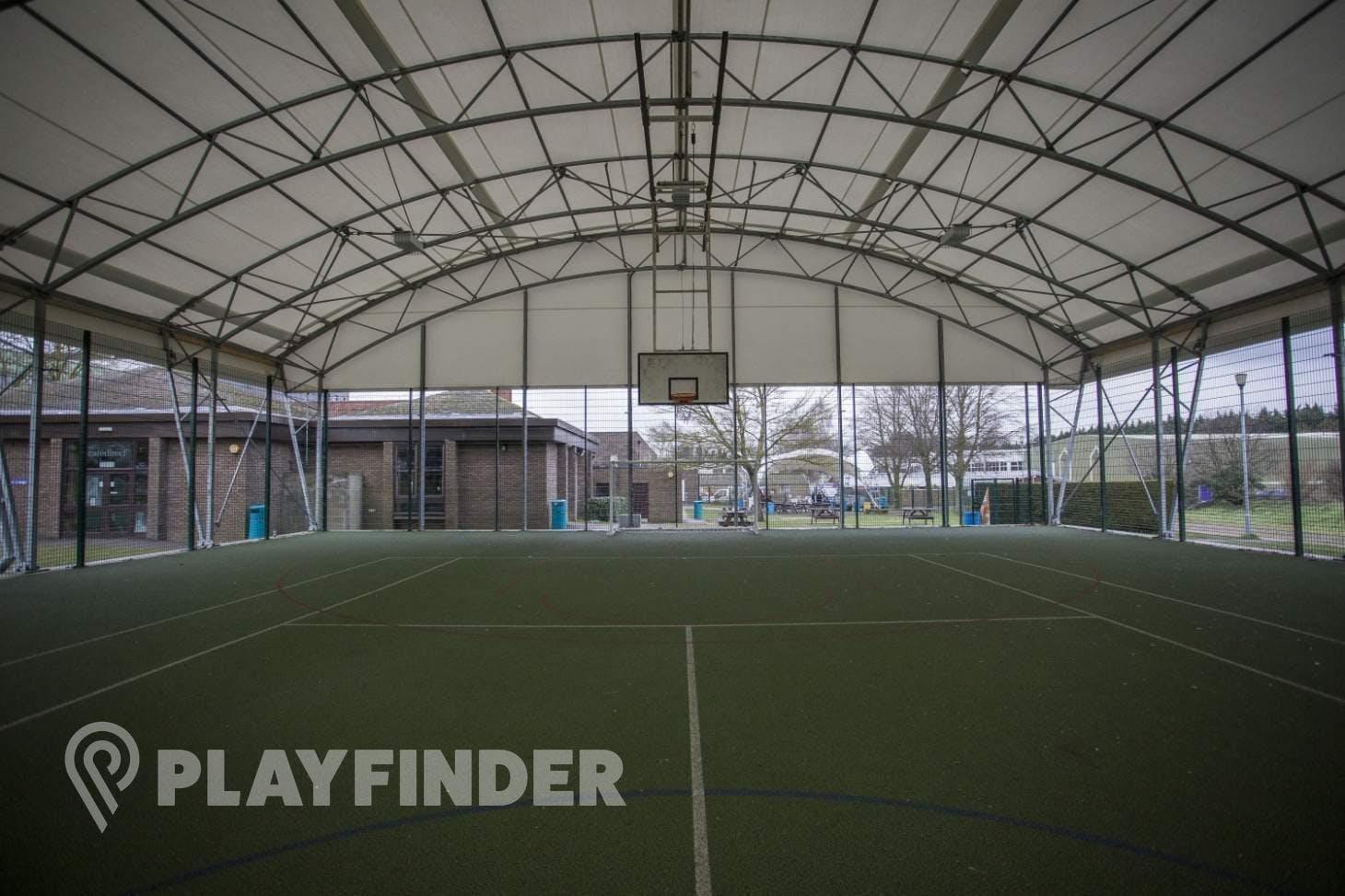 Nescot College 5 a side | Concrete football pitch