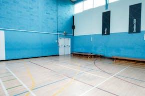 Chislehurst & Sidcup Grammar School | Hard Badminton Court
