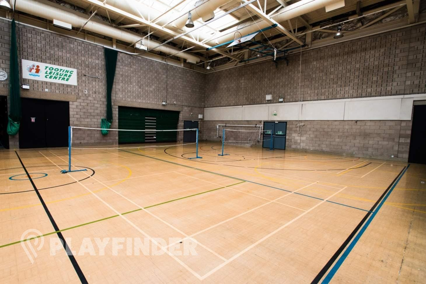 Tooting Leisure Centre Indoor | Hard badminton court