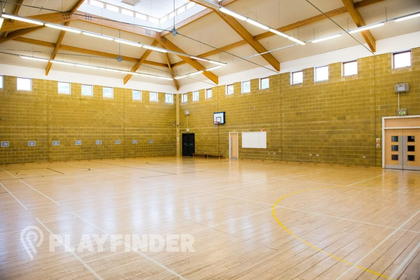 Hightown Community Sports and Arts Centre Indoor | Hard badminton court