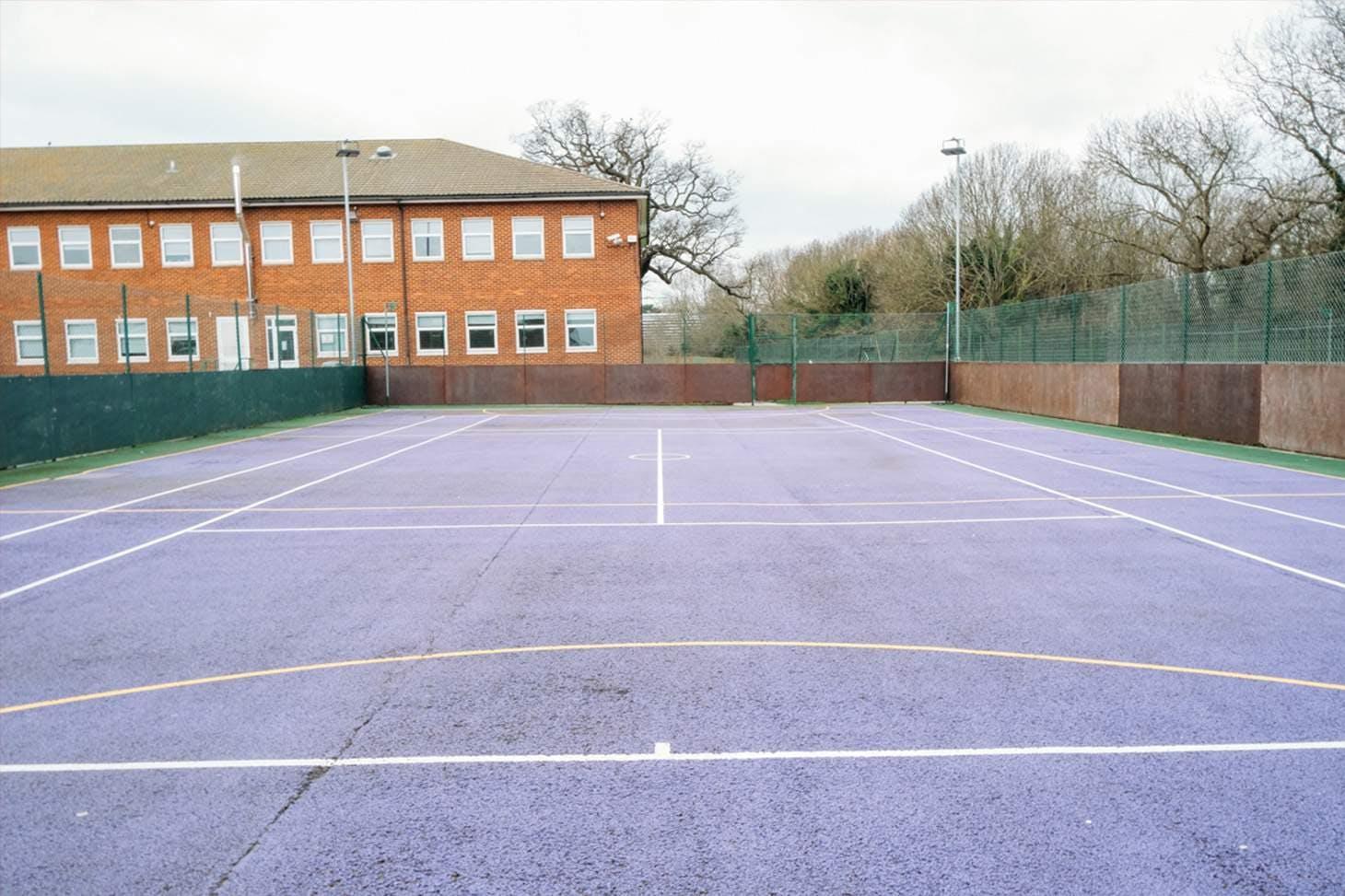 Chislehurst & Sidcup Grammar School Outdoor | Hard (macadam) netball court