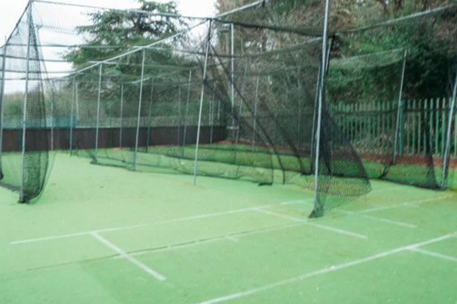 Chislehurst & Sidcup Grammar School Nets | Artificial cricket facilities