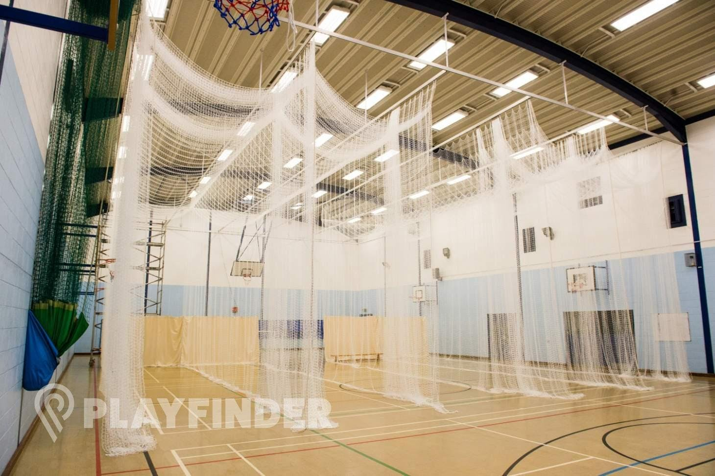 Featherstone Sports Centre Indoor | Hard badminton court