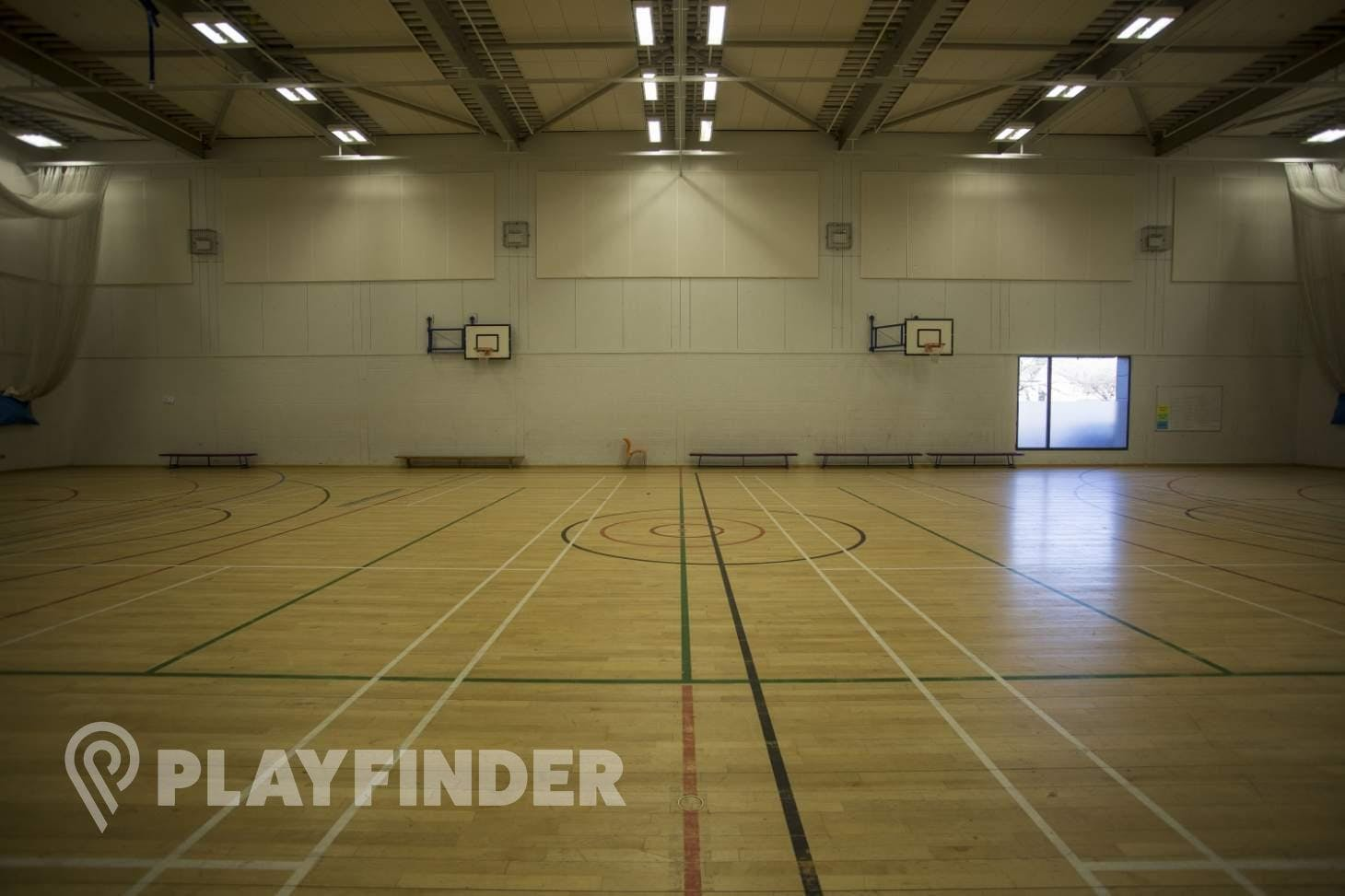 Chalk Hills Academy Indoor netball court