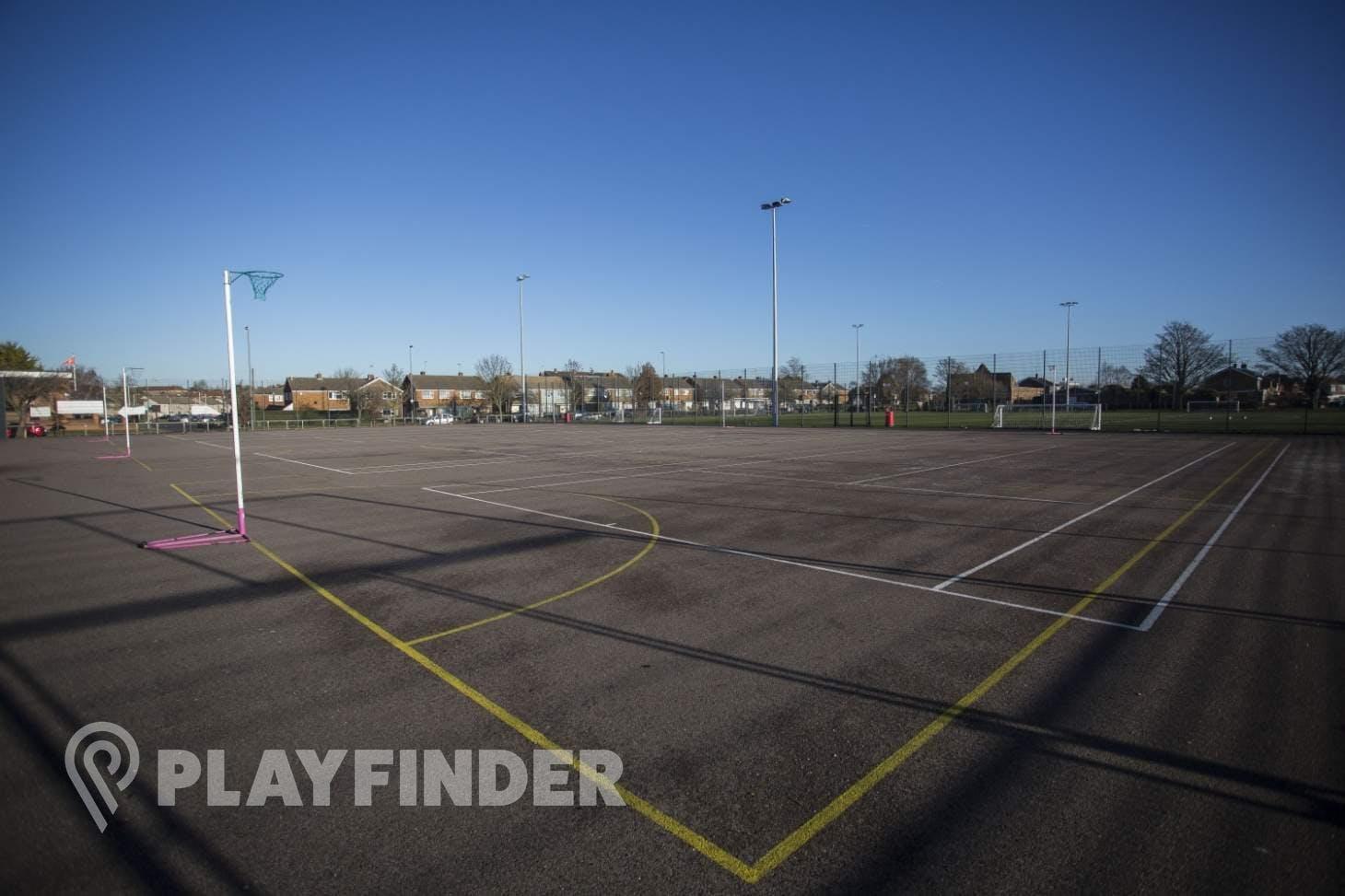 Chalk Hills Academy Outdoor | Hard (macadam) netball court