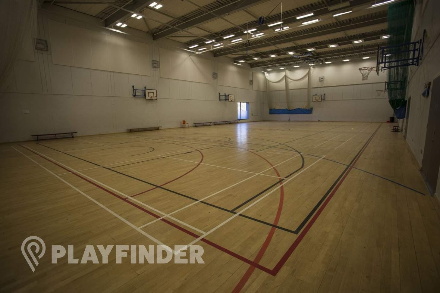 Chalk Hills Academy Indoor basketball court