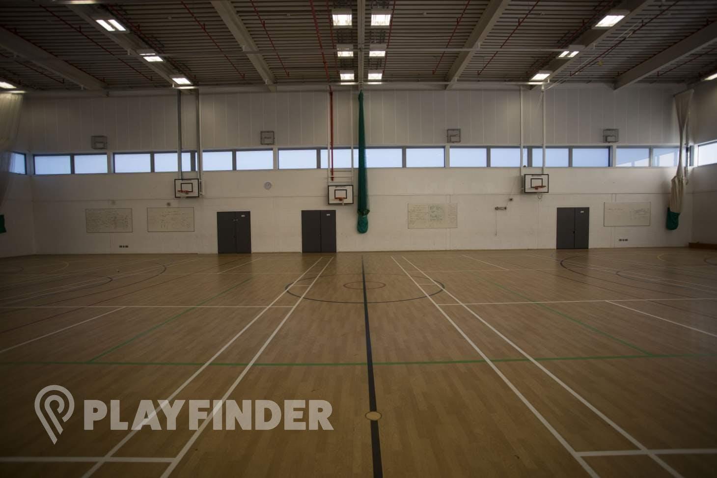 Stockwood Park Academy Indoor netball court