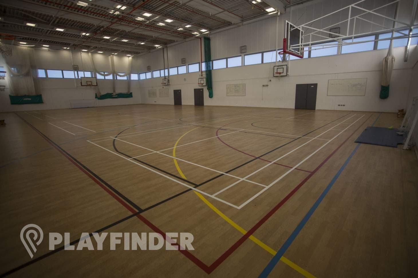 Stockwood Park Academy Indoor netball court