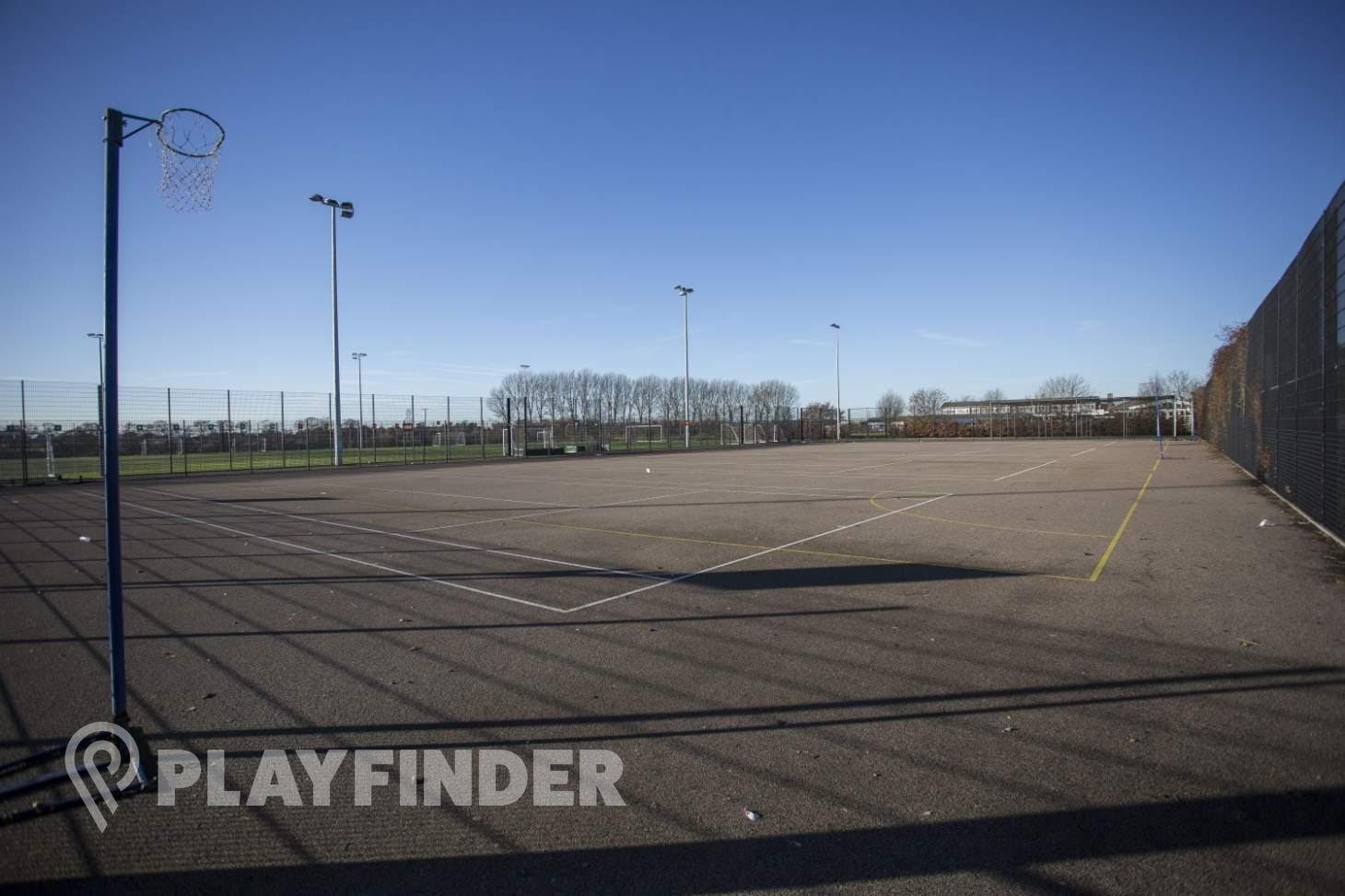 Stockwood Park Academy Outdoor | Hard (macadam) netball court