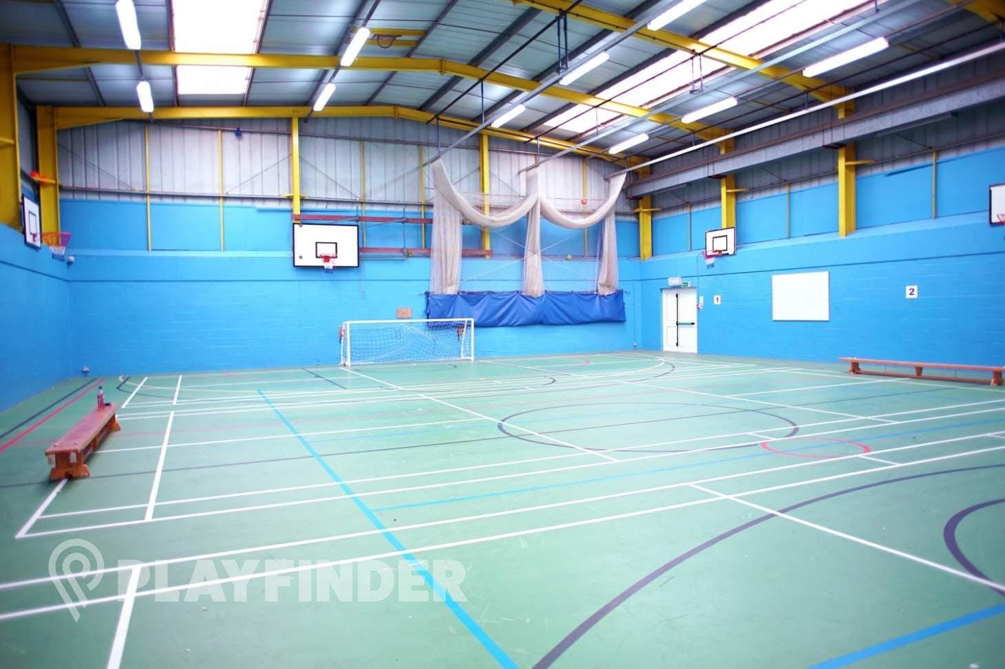 Cox Green Leisure Centre Indoor netball court