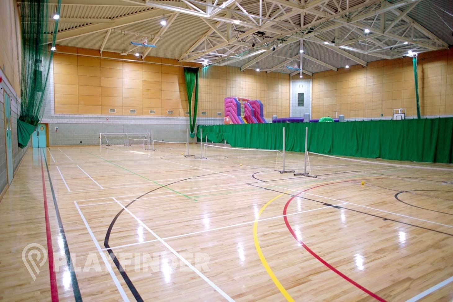 Windsor Leisure Centre Indoor netball court
