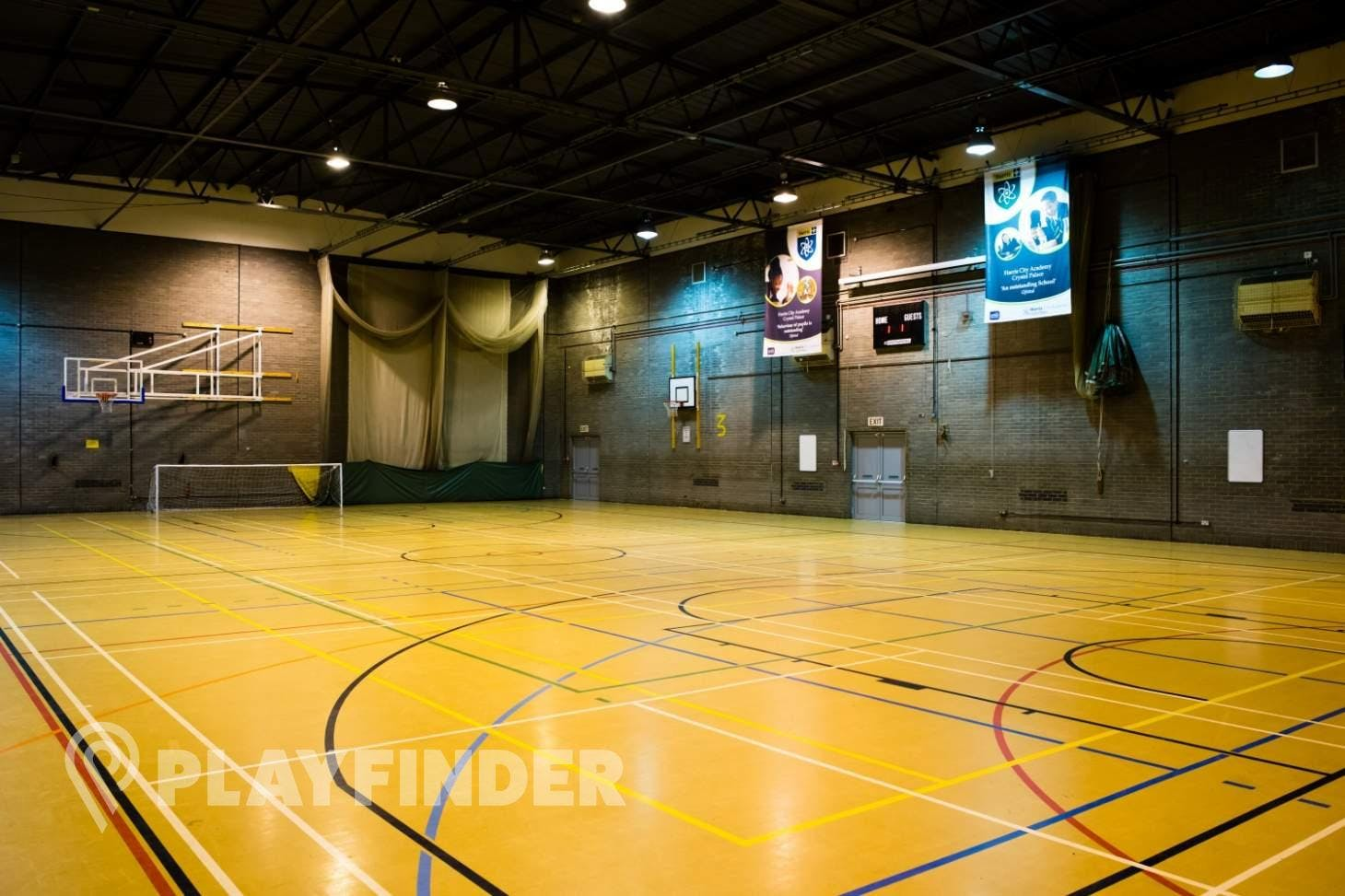 Harris City Academy Crystal Palace Indoor basketball court