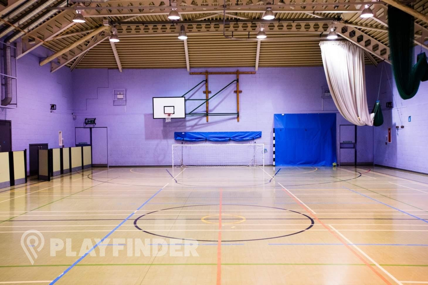 Roehampton Sports and Fitness Centre Indoor futsal pitch