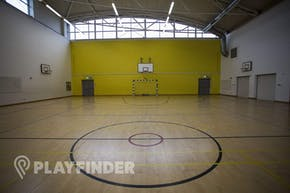 Barnhill Community School | Indoor Basketball Court