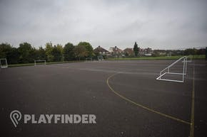 Barnhill Community School | Concrete Football Pitch