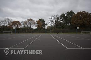 The Harefield Academy   Hard (macadam) Netball Court