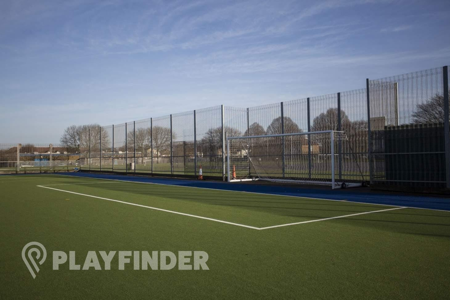Aylward Academy 11 a side   Astroturf football pitch