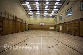 Aylward Academy | Hard Badminton Court