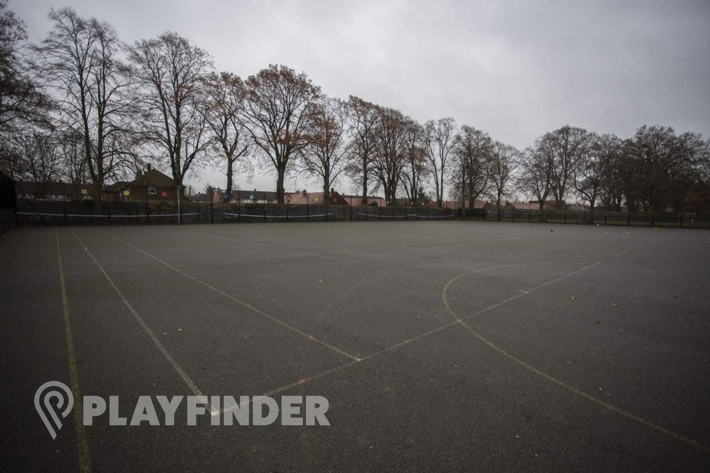 Langley Academy Outdoor   Hard (macadam) netball court