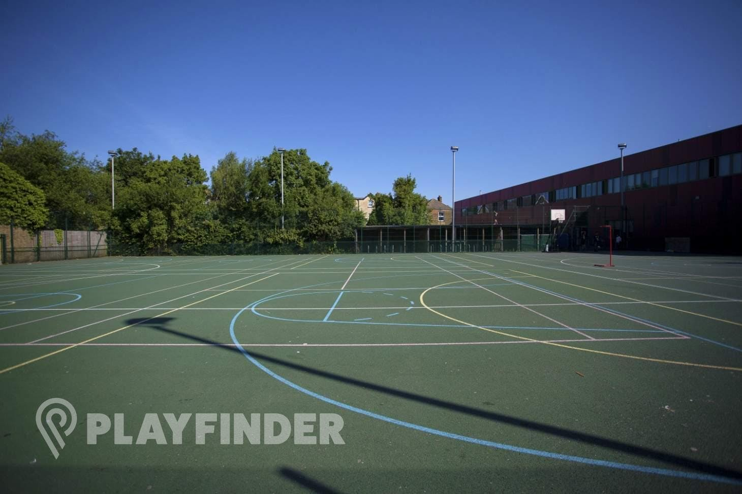 Elmgreen School Outdoor | Hard (macadam) netball court