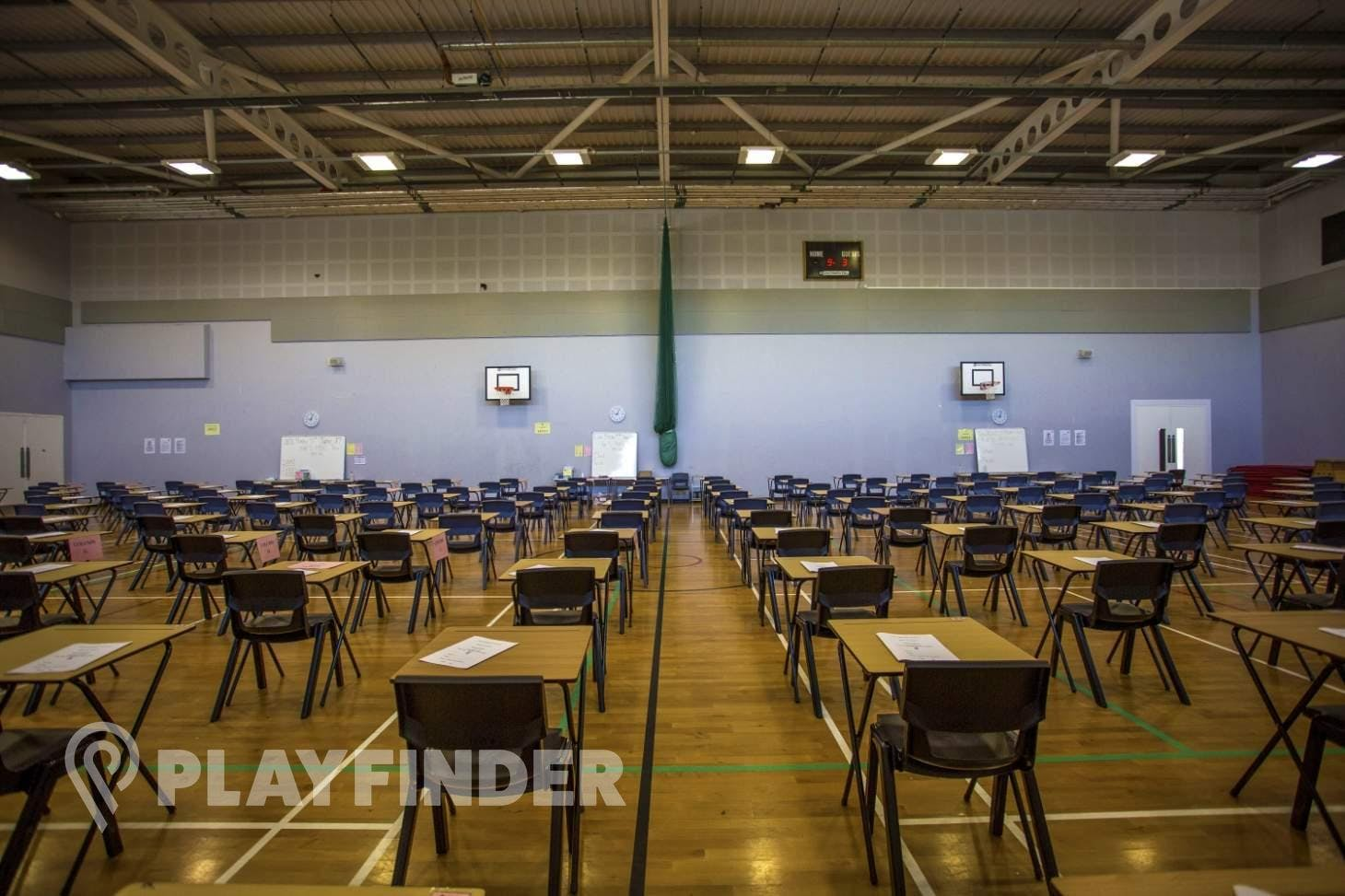 Elmgreen School Indoor | Hard badminton court