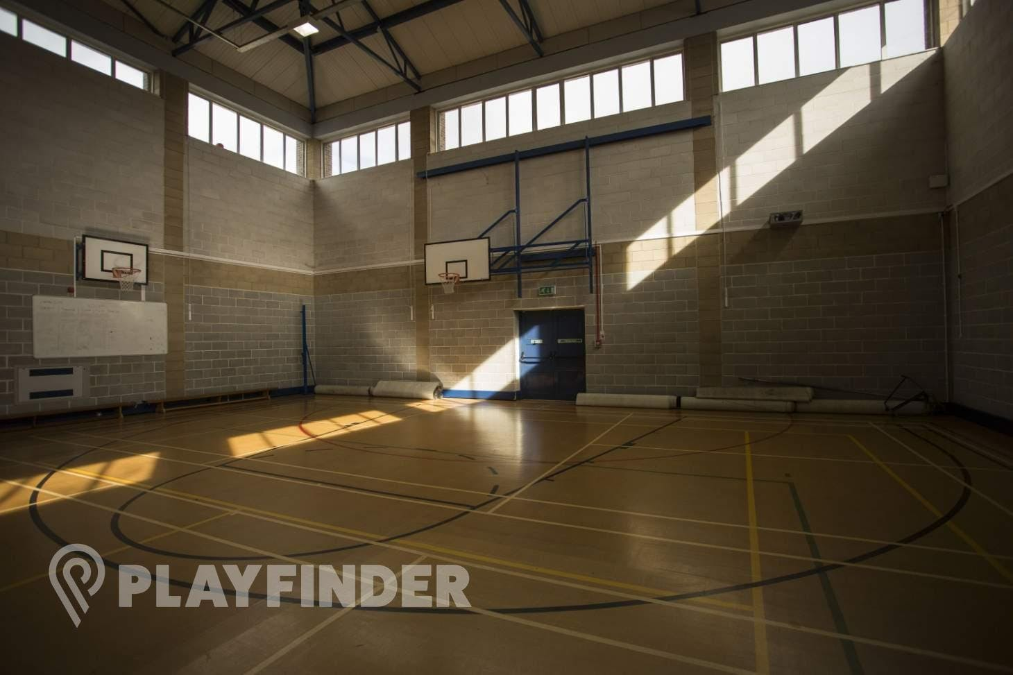 Copthall School Indoor basketball court