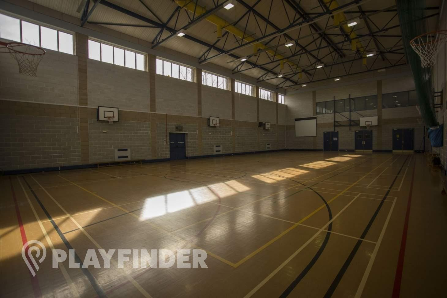 Copthall School Indoor netball court