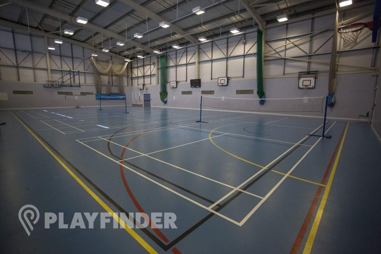 Oaks Park High School Indoor | Hard badminton court