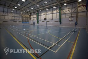 Oaks Park High School | Hard Badminton Court