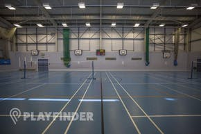 Oaks Park High School | Indoor Netball Court