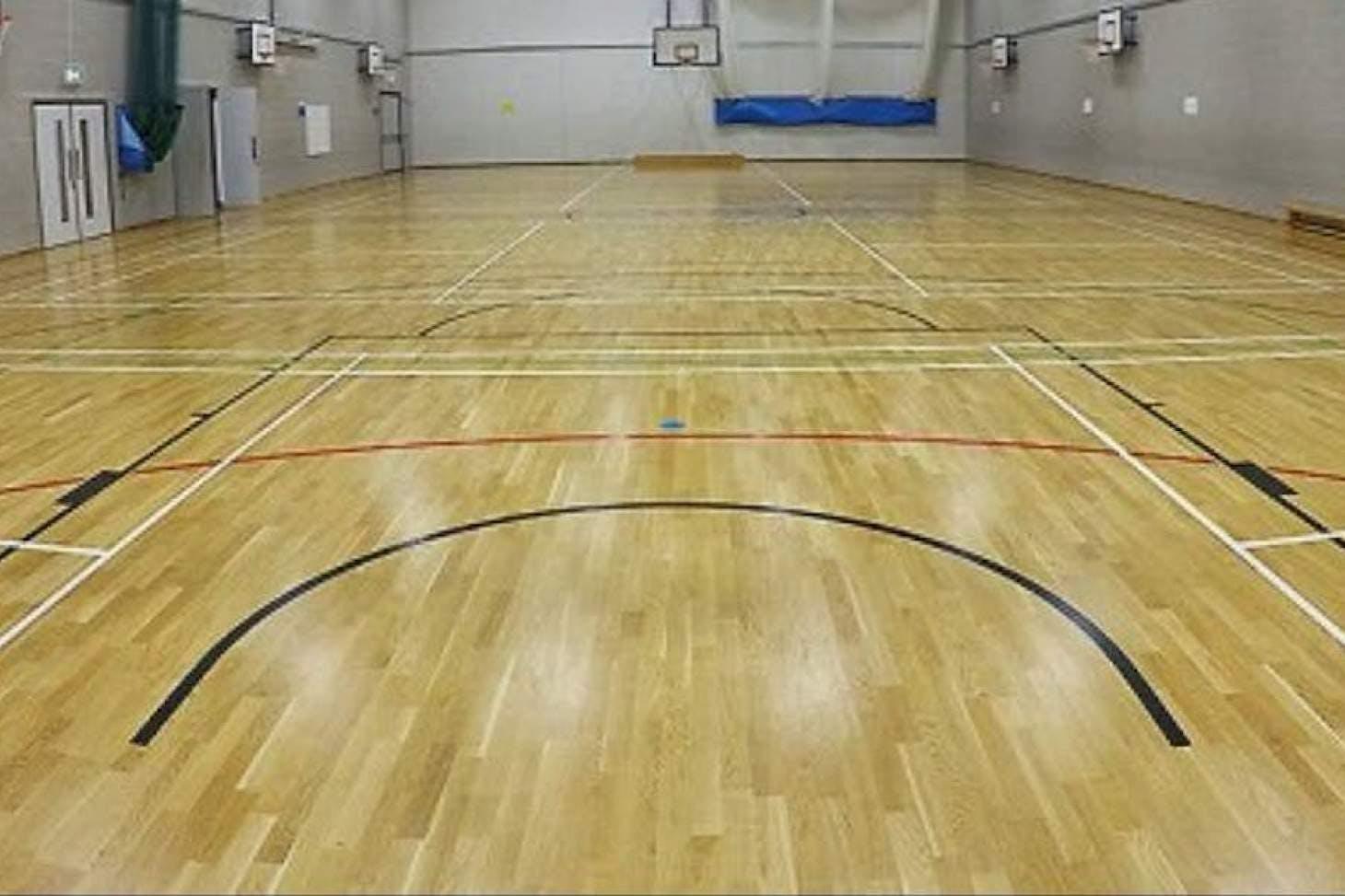 School 21 Indoor futsal pitch